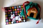 Realizzo sacchette porta cibo e portabustine bisognini