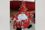 Gnomo da usare come decorazione natalizia per l'albero di natale