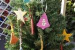 Addobbi natalizi fatti con stuzzicadenti