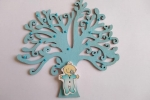 Alberello in legno dipinto a mano personalizzabile