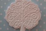Albero della vita in gesso o polvere di ceramica