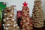 Albero di Natale in tela yuta