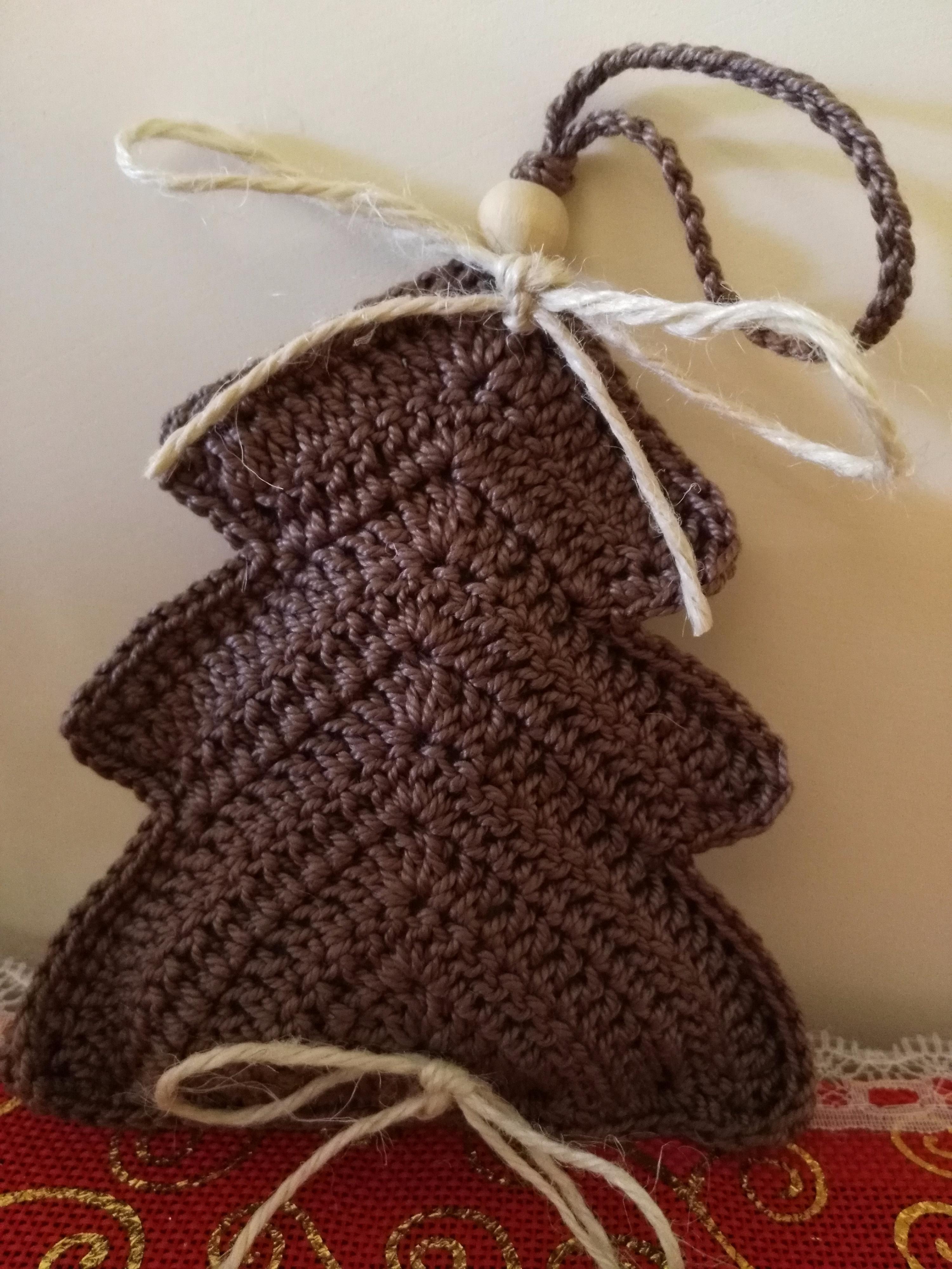 Creazioni Addobbi Albero Natale Uncinetto Fatto A Mano Cotone