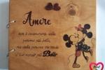 Album Topolino e Minnie Vintage con dedica (Personalizzabile)