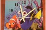 Orologio in legno Alla ricerca di Dory
