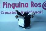 Amigurumi jester's hat portachiavi