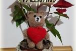 Amigurumi - Orsetto di San Valentino