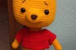 Amigurumi piccolo Winnie the Pooh