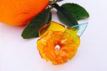 Anello fiore - realizzato a mano
