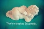 Angelo in polvere di ceramica