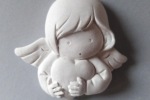 Angioletto con cuore - Gessetti Profumati