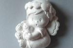 Angioletto con quadrifoglio - Gessetti profumati