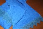 Asciugamani di spugna con pizzo a filet