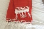 Asciugamani rosso