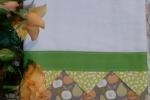 Asciugapiatti ricamati puro cotone  65x45 cm