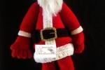 Babbo Natale, fatto a mano, amigurumi, altezza 60 cm