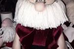 Ferma porta natalizio Babbo natale