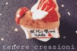 Baby in porcellana fredda su cuore