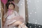 Bambola ballerina alta 45cm