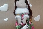 Bambola del cuore Rosy
