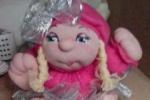 Bambola in tessuto dolcissima