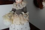 Bambola interamente realizzata a mano. Altezza 40 cm