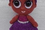 Bambola Lol Surprise Glitter amigurumi