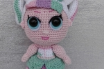 Bambola Lol Surprise Unicorno amigurumi