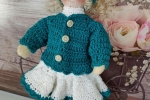 Bambola Marilyn amigurumi
