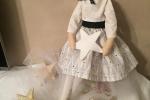 Bambola stella fatta a mano