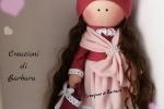 Bambola doll con stoffe di alta qualità