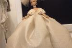 Bambola Barbie con abito di mia creazione