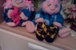 Bambole in tessuto dolcissime (i gemelli)