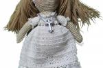 Bambolina comunione amigurumi