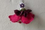 Bambolina di sapone con fiore