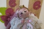 Bambolina sfera di natale