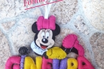Banner nome, banner lettere in pannolenci Minnie
