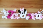 Banner nome personalizzabile Disney