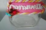 Barattolo caramelle con pasta polimerica (fimo)