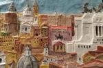 Bassorilievo panorama Roma.