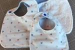 Bavaglino bambino/bambina con stoffa di altissima qualità