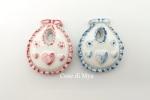 Bavaglini in Ceramica/bomboniere