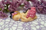 Bebè topolina in polvere di ceramica