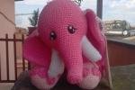 Elefante Amigurumi fatto a mano