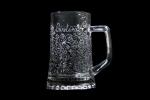 Bicchiere personalizzato inciso a mano Decorazione liberty