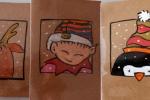 Biglietti Natale dipinti a mano con Acquarelli