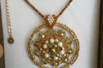 Bijoux realizzati con filato in lurex