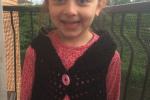 Bolero per bambina (4/5 anni) all'uncinetto