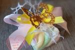 Bomboniera o segnaposto farfalla con marshmallow