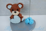 Bomboniera orsetto con cuore portafoto